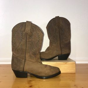 Smoky Mountain 3531 Annie Brown Youth Boots US